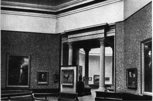 В залах Национальной галереи Шотландии, Эдинбург