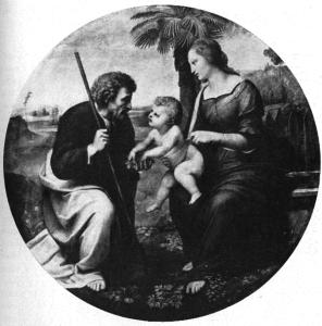 Рафаэль. Св. семейство с пальмой, Эдинбург