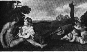 Тициан, Три возраста человека, Эдинберг