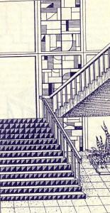 интерьер лестниц