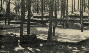 Сборная танцевальная площадка-эстрада (на сваях).