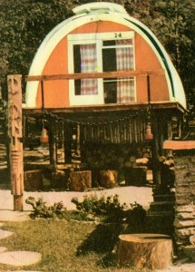 асбоцементный домик