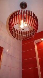 Подбор светильника под цвет  стен