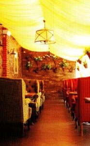Бюджетный интерьер летнего кафе