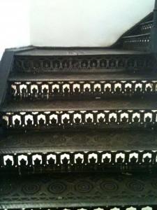 Лестница металлическая 19 век