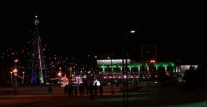 Новогодние празднества на главной ёлке в городе Набережные Челны. 2014 год