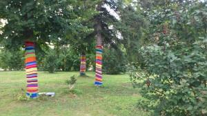 Обвязка деревьев