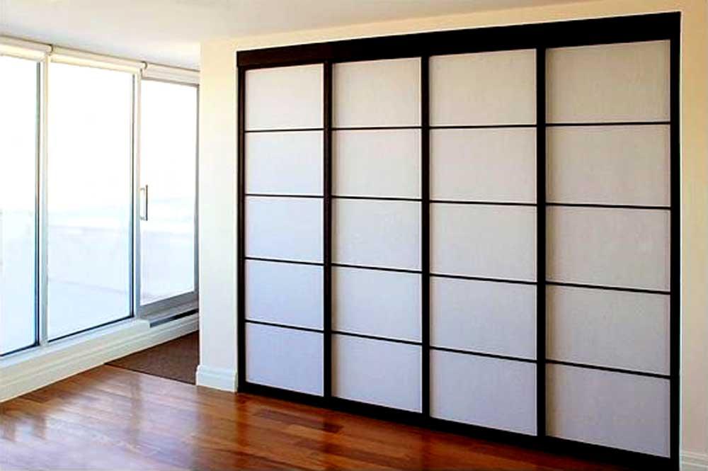 Раздвижные двери в шкаф