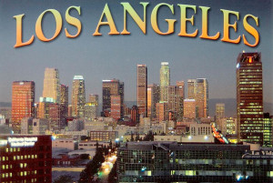 в округе Лос-Анджелес