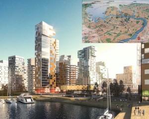 Строительство  нового Санкт -Петербурга