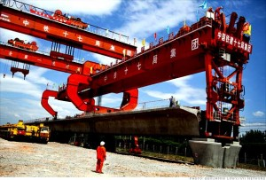 Строительство железной дороги в Китае поддержка экономики