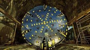 Машина тоннелепроходная