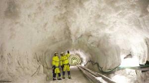Самый длинный железнодорожный туннель в Швеции