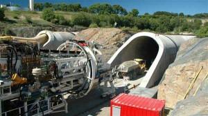 Огромный тоннель