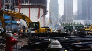 Начало строительства Мирового торгового центра