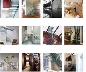 Лестница для торгового центра