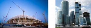 строительство из Сочи в Москву
