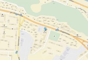 Бизнес Центр на «Родионова-23» на карте Нижнего Новгорода