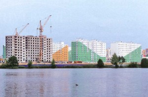 "Микрорайон ""Бурнаковский"" Московский район. Нижний Новгород."