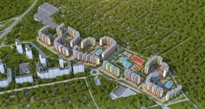 ЖК Сколковский. Общая площадь квартир составит 399 тыс. кв. м