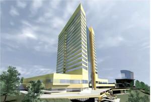 Строительство отеля MARRIOTT