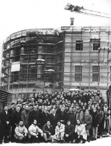 Московское училище живописи, ваяния и зодчества строительство первого здания