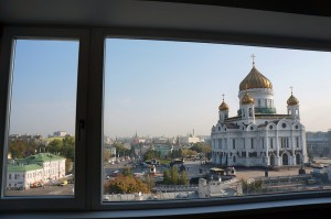 в самом центре Москвы