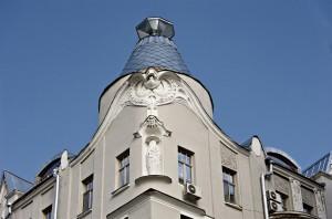 Купол старинного дома