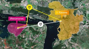 Иннополис на карте