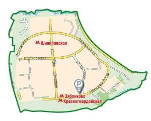 Строительство в районе Зябликово