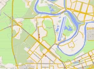 Крылацкое на карте Москвы