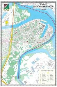 Нагитинский затон на карте