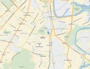 Нагорный на карте Москвы