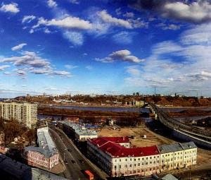Нижняя часть Нижнего Новгорода