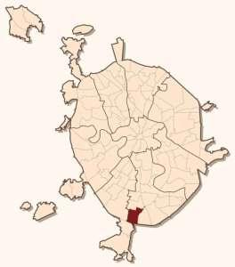 Южное Чертаново на карте