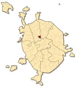 Савёловский район на карте