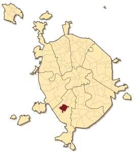 Коньково на карте Москвы