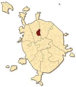 Тимирязевский район на карте