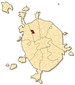 Войковский район на карте