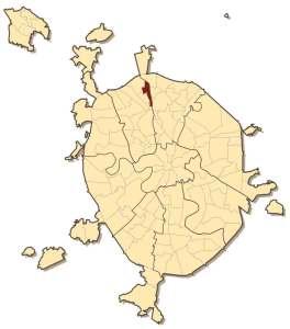 Восточное Дегунино на карте