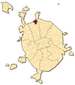 Дмитровский район на карте