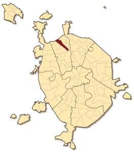 Западное Дегунино на карте