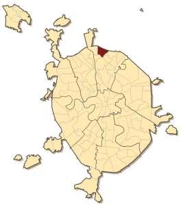 Бибирёво на карте