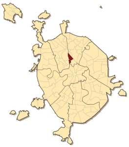 Бутырский район на карте