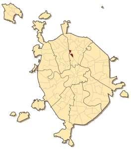 Марфино на карте