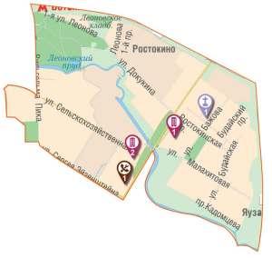 Строительство в районе Ростокино