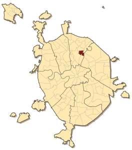 Ростокино на карте