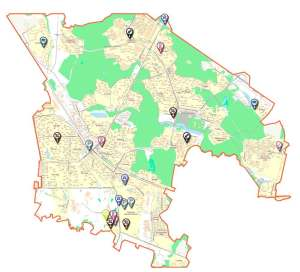 Строительство объектов в Москве Зеленоградском административном округе 2015-2016
