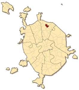 Южное Медведково на карте