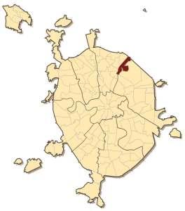 Ярославский район на карте